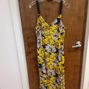Who What Wear Dresses - WHO WHAT WEAR MAXI TANK DRESS